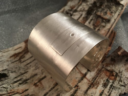 Birch Bark Cuff Bracelet
