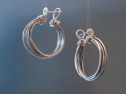 juniper bark earrings