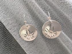 Sand Dollar Earrings, small $28