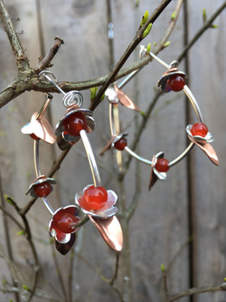 Cherry Blossom Hoop on Branch