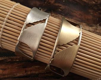 ginkgo leaf bracelet