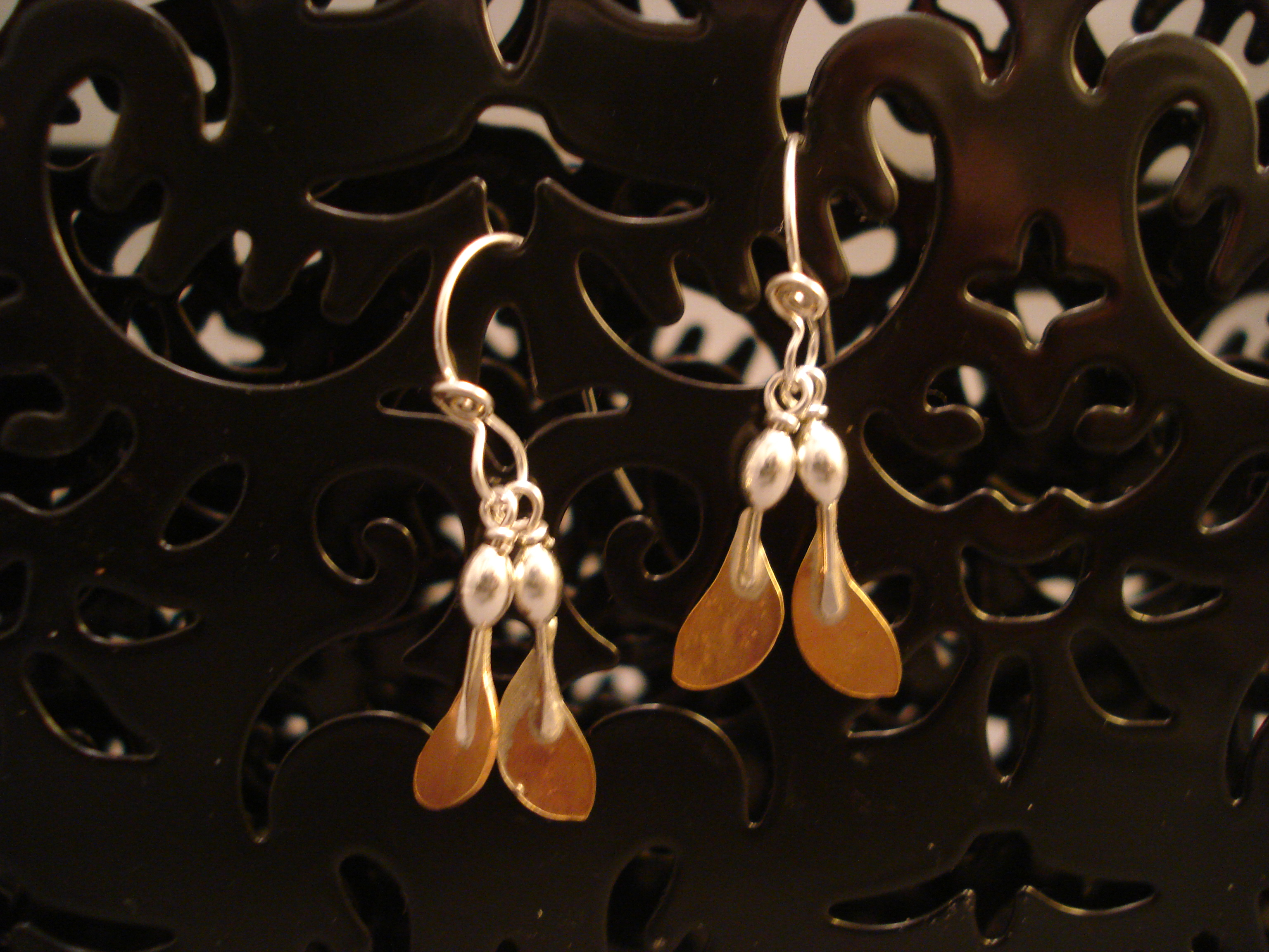 Maple Seed Earrings, small $28