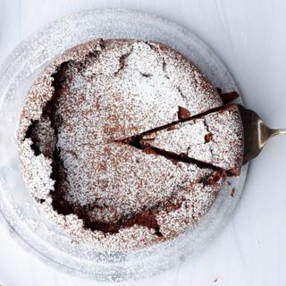 עוגת שמן זית ושוקולד ללא קמח