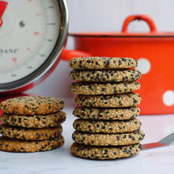 עוגיות שקדים וטחינה אל ארז