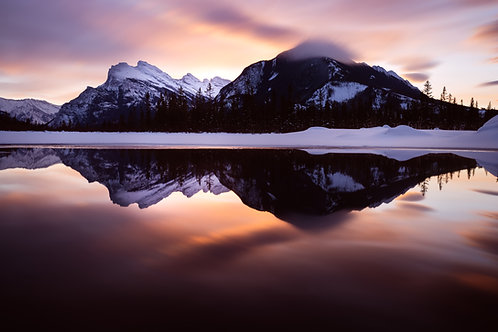Winter Reflections on Vermilion Lake