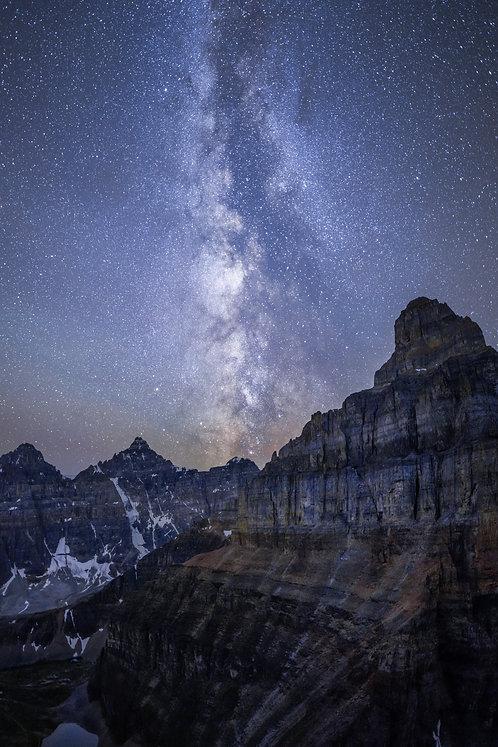 MilkyWay over Pinnacle Peak