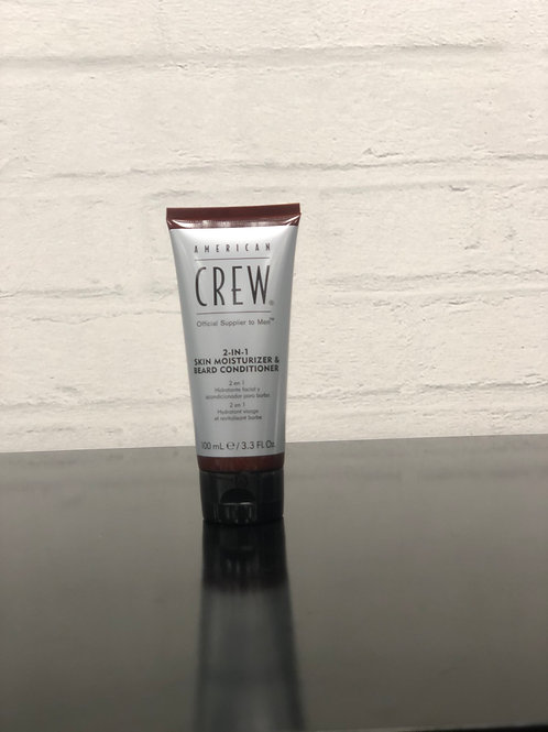 American Crew Beard 2 in 1 skin moisturizer and beard conditioner