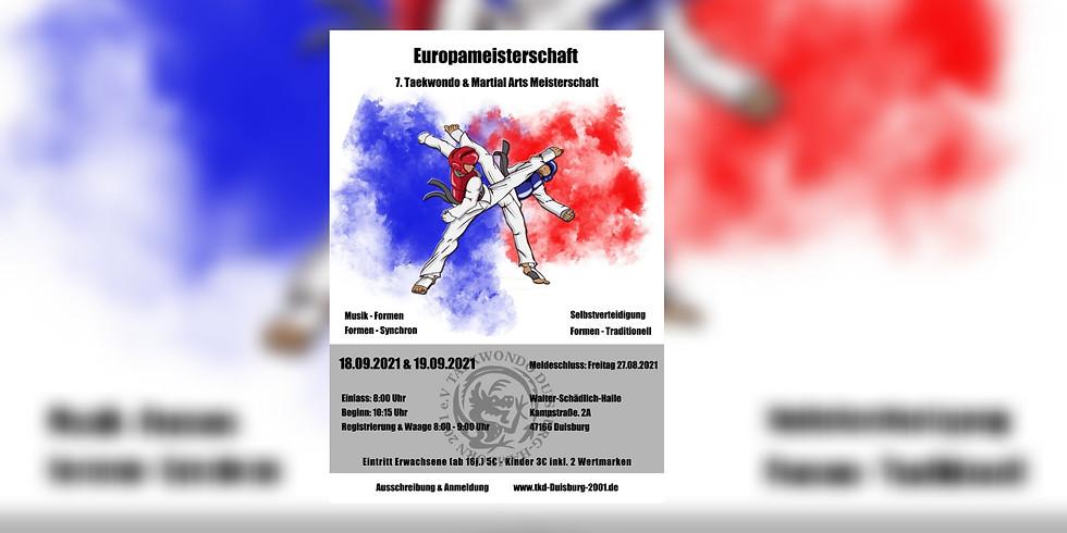 7. Taekwondo & Martial-Arts Europameisterschaft