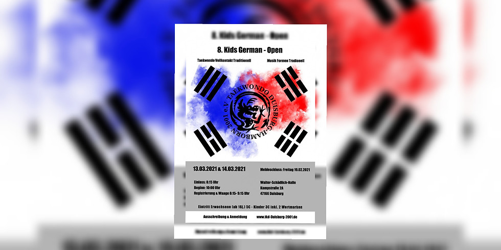 8. D.T.O. Kid´s German-Open 2020 (Vollkontakt/Musik-Formen)