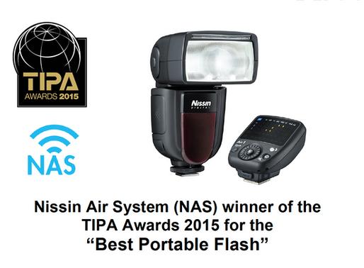 Winner of the TIPA Awards 2015