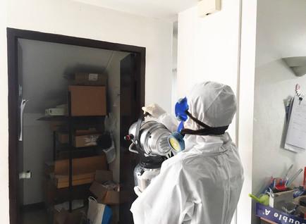 Disinfection Service / บริการฉีดพ่นฆ่าเชื้อโรค / 室内除菌