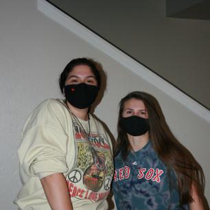 Marita and Makayla