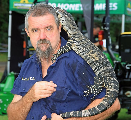 David Williams RESTA QLD has over 11years experience in reptile safety & educational presentations.