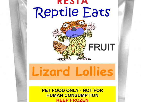 WS Lizard Lollies - Fruit 250g