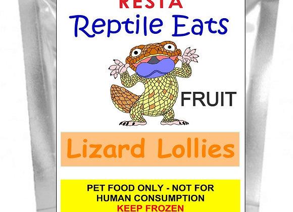 WS Lizard Lollies - Fruit 500g