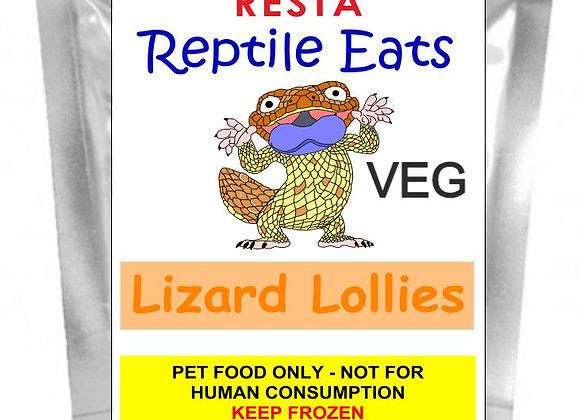WS Lizard Lollies - Veg 500g