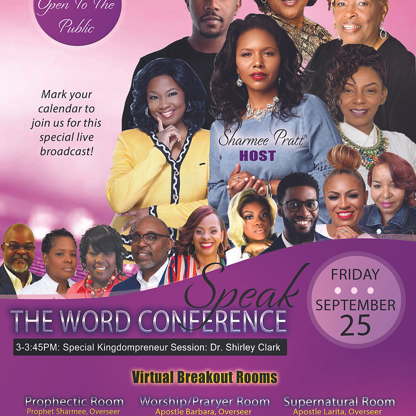 Speak the Word Virtual Conference