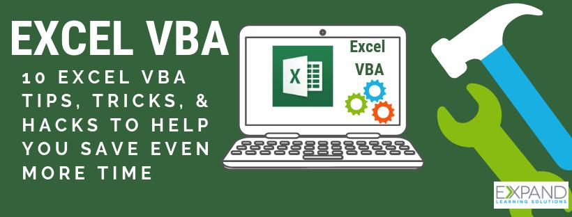 Tech Tip Tuesday: 10 Excel VBA Tips, Tricks, & Hacks To Help