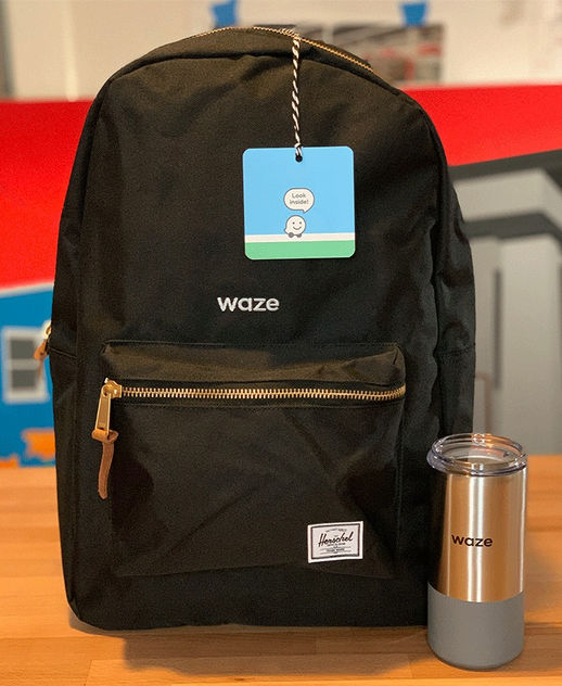 Waze Welcome Gift for New Hires