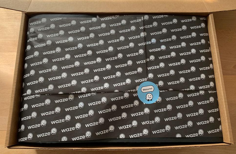 Waze Ads Customer Advisory Board Welcome Gifts