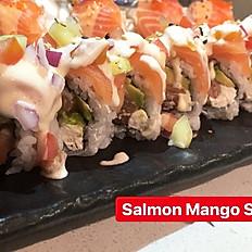 (SR) SALMON MANGO SALSA ROLL