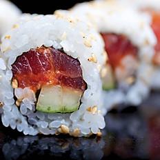 (R.R) Spicy Salmon Roll