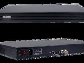 Videocast H.265/ H.264 1U 1 channel SDI Encoder