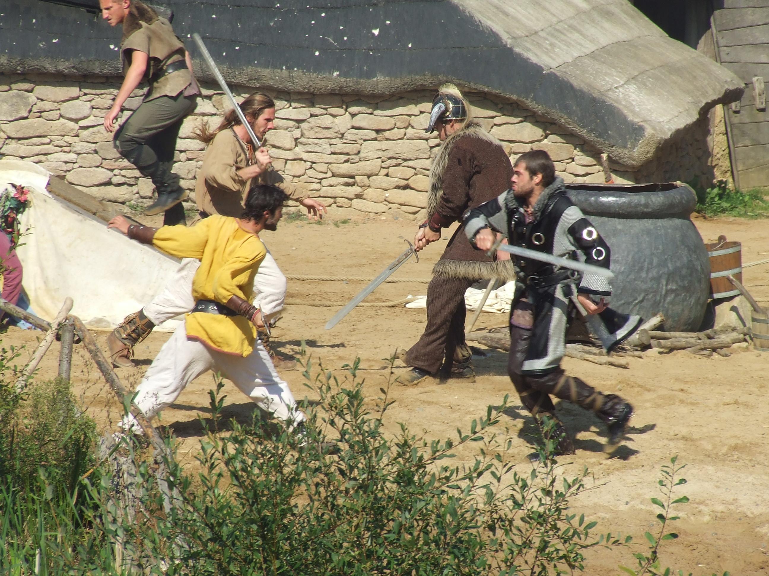 combat épée Puy du Fou