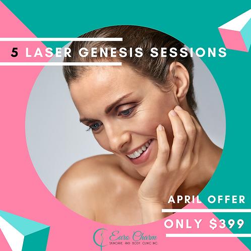 5 Laser Genesis Treatments