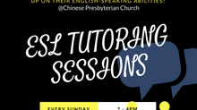 ESL Session Tutoring Elders! (Every 2nd and 4th Sunday)
