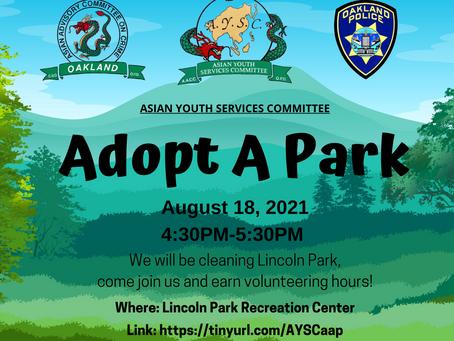 Adopt A Park Event