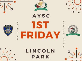 9/6 1st Friday (4-8:30pm)