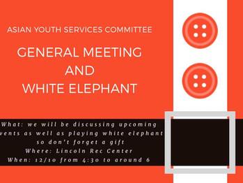 12/10 General Meeting (4:30-6pm)