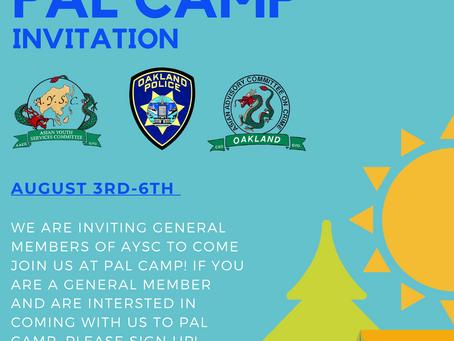 PAL camp with General members?!