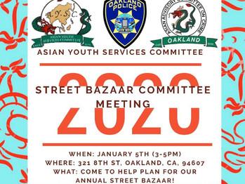 1/5 Street Bazaar Committee Meeting (3-5pm)