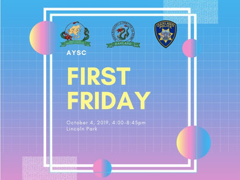10/4 First Friday (4-8:45pm)