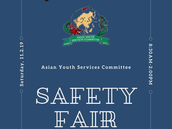 11/2 Safety Fair (8:30am-2:00pm)