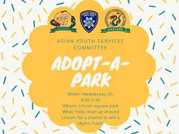 11/20 Adopt A Park (4:30-5:30pm)