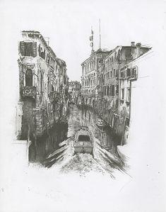 """Venezia"", Lithograph, 2017"