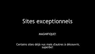 EXCEPTIONNAL SITES