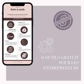 6 Outils gratuit pour les entrepreneurs