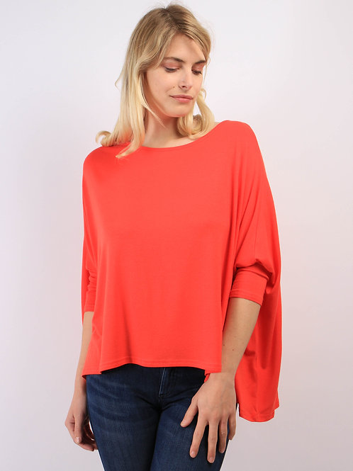Top Oversize Rouge