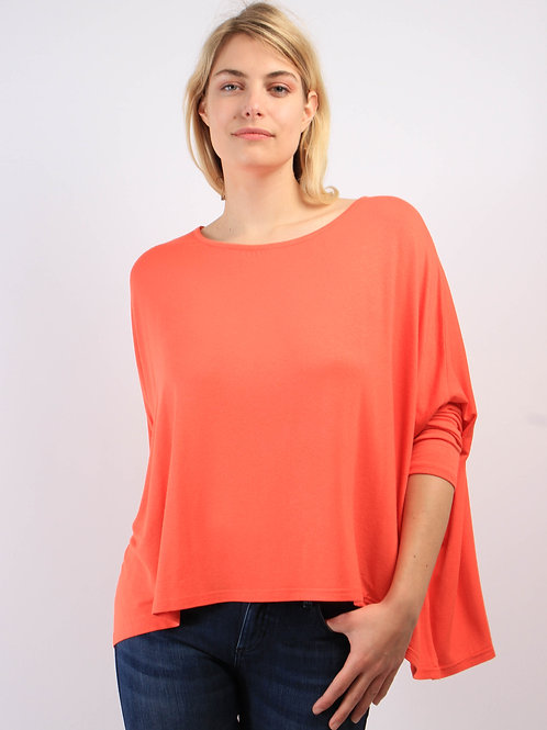 Top Oversize Corail