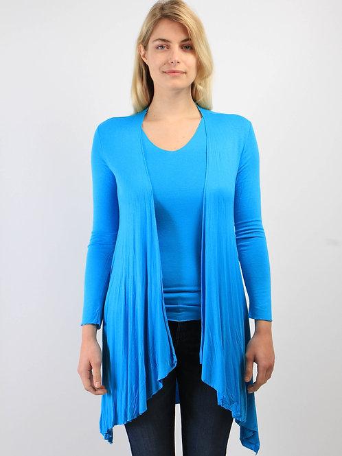 Gilet Longo Turquoise
