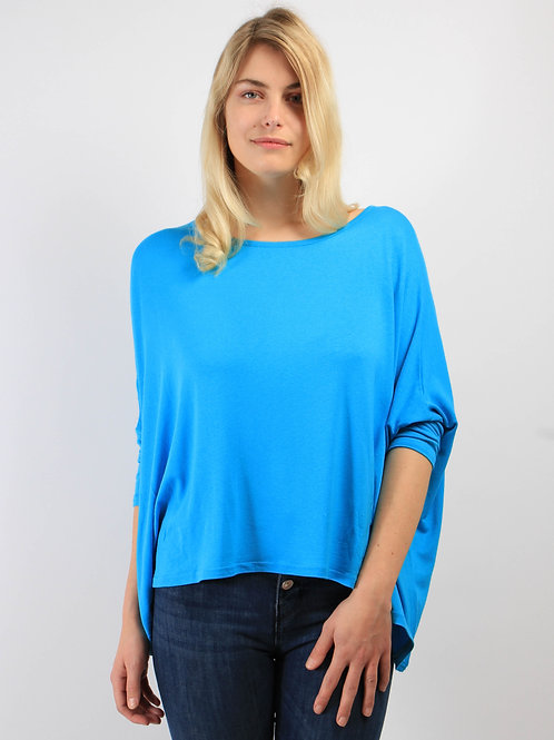 Top Oversize turquoise