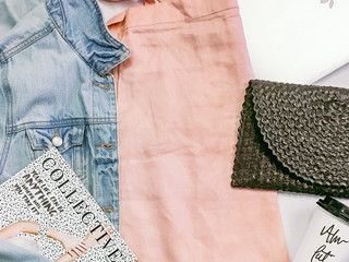 OOTD: Peach Dress and Jacket