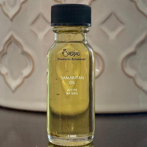 Aceite samaritano (aceite ratero)