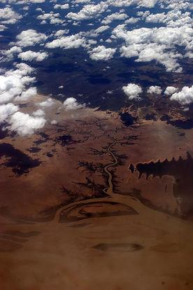 Australie, Australia, plane, avion, vue du ciel, desert