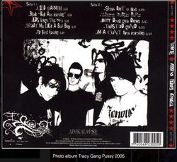 Album Tracy Gang Pussy 2005