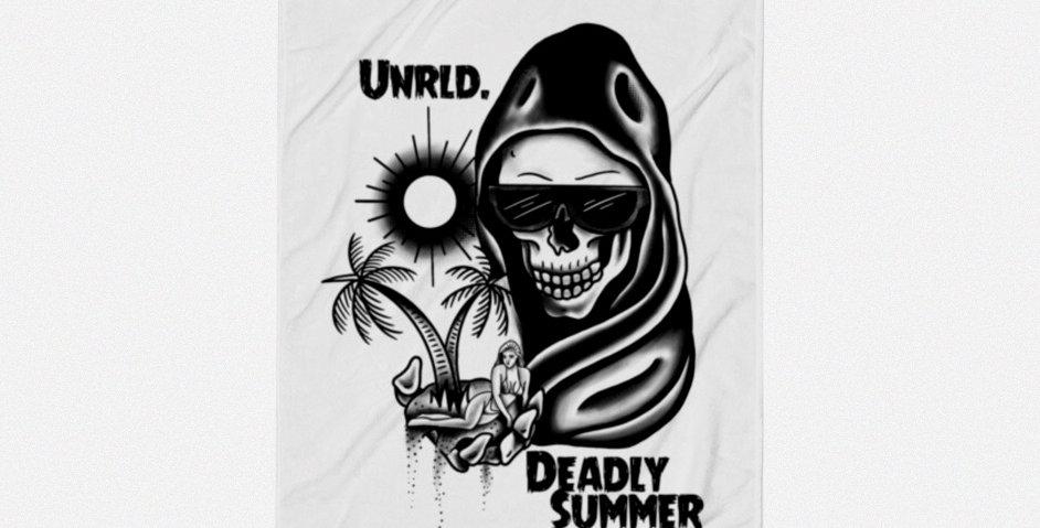 Deadly Summer Beach Towel